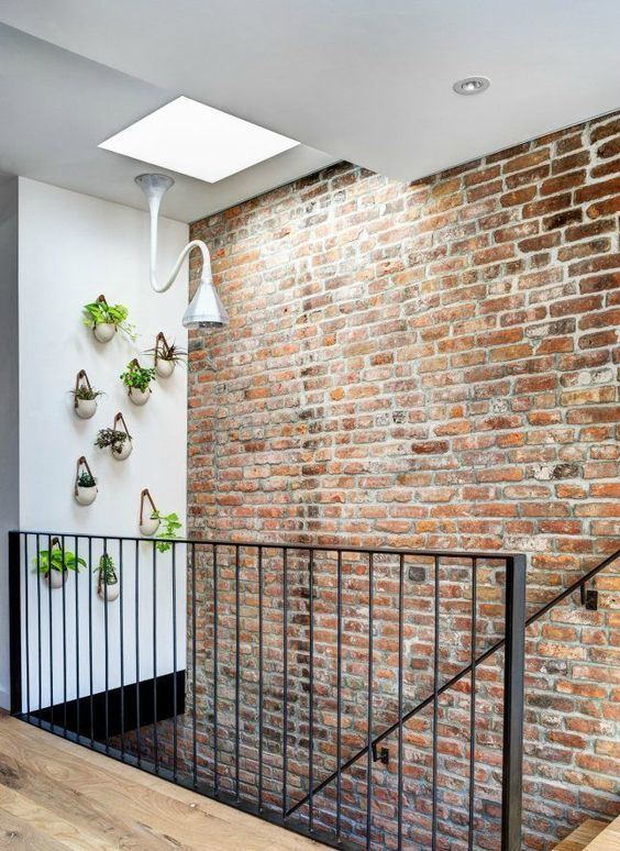 Comment restaurer un mur int rieur en brique - Brique de parement interieur ...