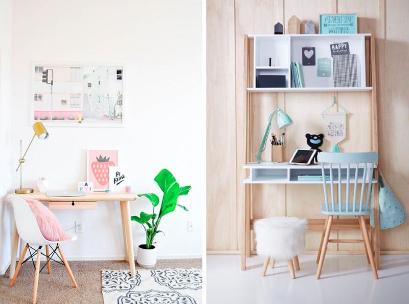Inspiration : des coins bureaux originaux pour une chambre d\'enfant