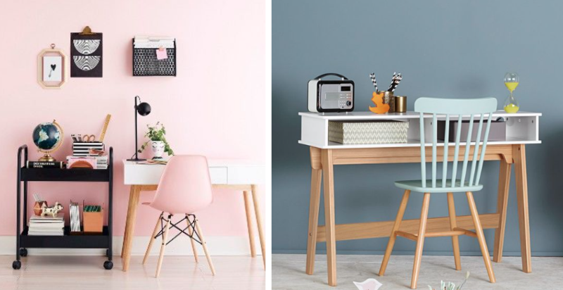 inspiration des coins bureaux originaux pour une chambre d enfant. Black Bedroom Furniture Sets. Home Design Ideas