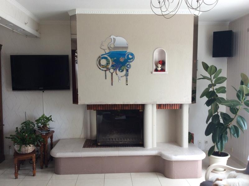 Enlever couche de cr pi et peinture sur hotte de chemin e - Peinture pour hotte de cheminee ...