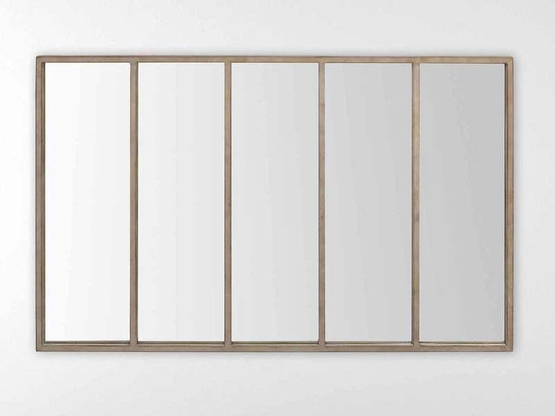 Accrocher un miroir 140 x 90 cm sur un mur non porteur for Accrocher un miroir