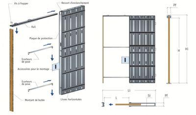montage portes coulissantes à galandage et cloison, laval ... - Installer Une Porte A Galandage