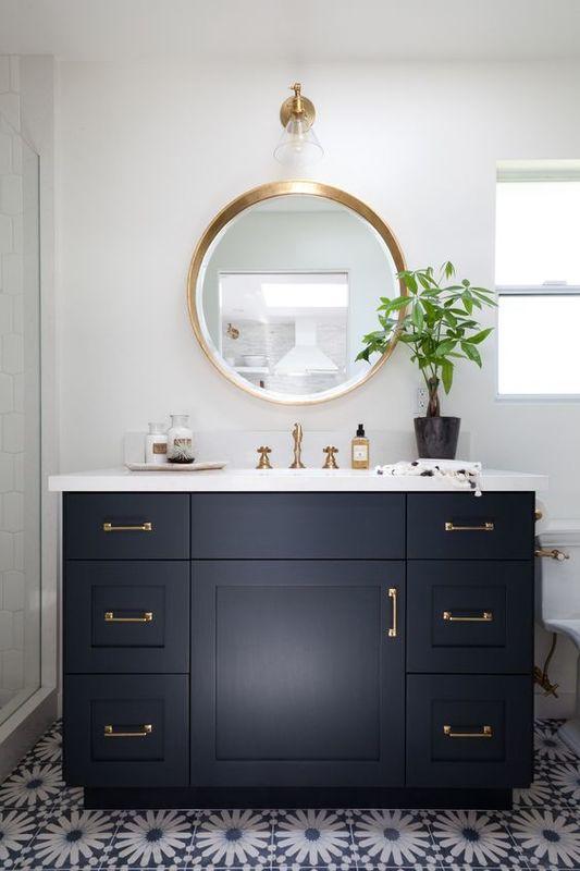 Combien coûte l'installation de meubles de salle de bain ?