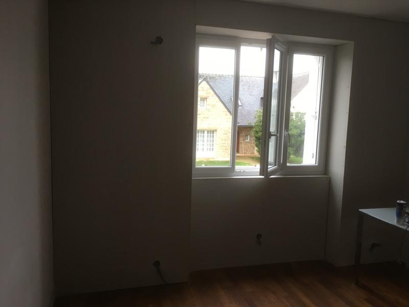 bandes et finitions de placoplatre bannalec pose d 39 enduit reboucher un mur proposez vos. Black Bedroom Furniture Sets. Home Design Ideas
