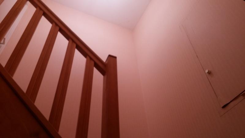 Décoller et recoller du papier peint dans la cage d'escalier, Ploeren, Pose et décollage de ...