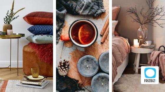 Déco automne - hiver  2019 : préparez votre intérieur à l'arrière-saison