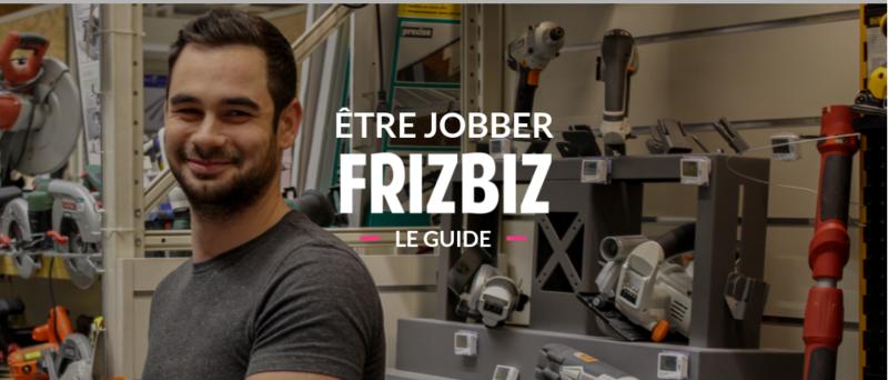 Être jobber Frizbiz - le guide de la prestation réussie